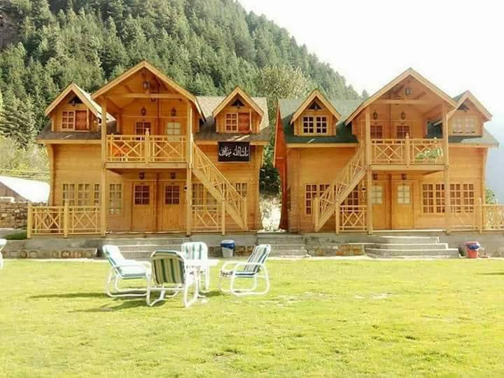 Swiss Wood Cottages